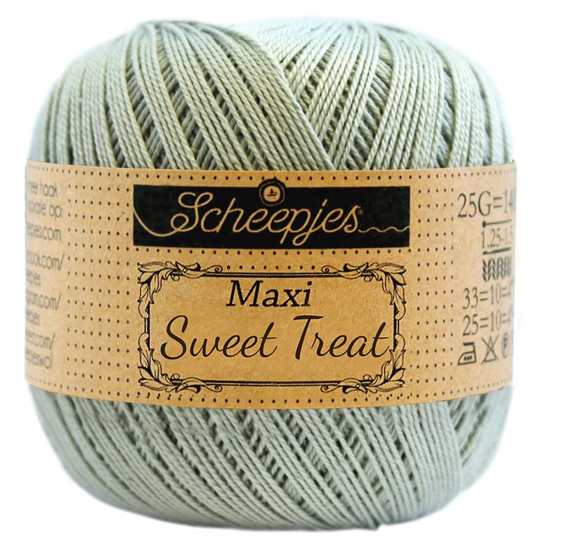 Scheepjes Maxi Sweet Treat 25 gram  -  Silver Green 402