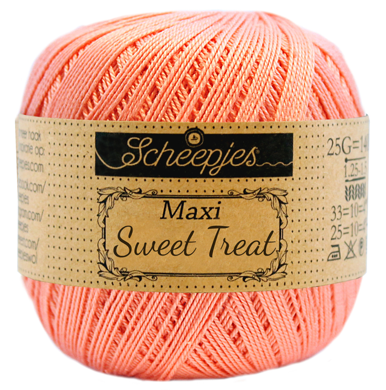 Scheepjes Maxi Sweet Treat 25 gram  - Light Coral 264