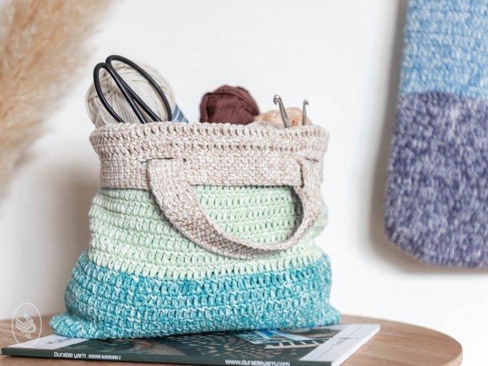 Garenpakket: Durable Faded Tas (3 kleuren)