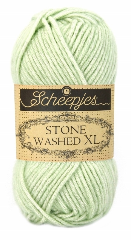 Scheepjeswol Stone Washed XL New Jade 859