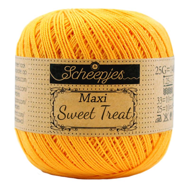 Scheepjes Maxi Sweet Treat 25 gram -  Yellow Gold  208