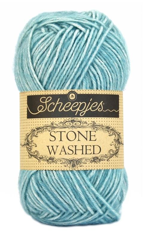 Scheepjeswol Stone Washed Amazonite 813