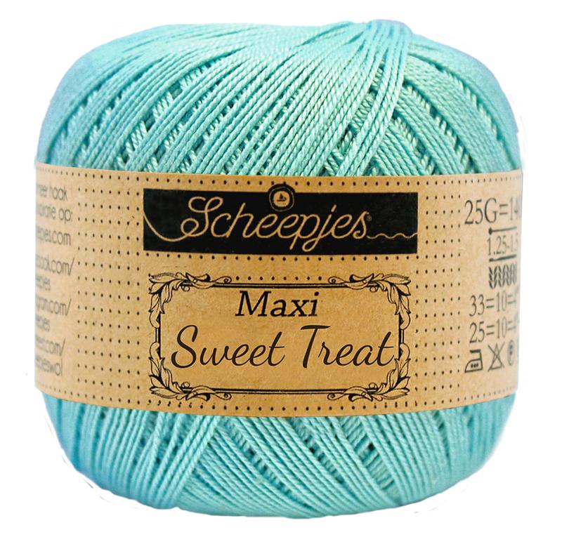 Scheepjes Maxi Sweet Treat  25 gram - Cyan  397