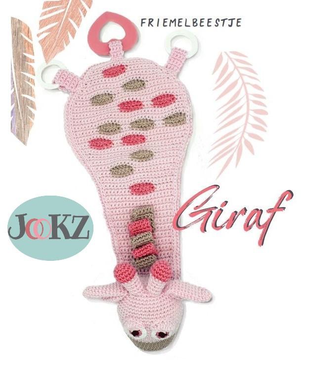 Garenpakket: Jookz Friemelbeestje Giraf