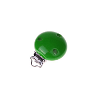 Houten speenclip 35mm - groen