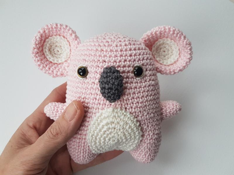 Garenpakket: By Bets Koala Kimmy Roze
