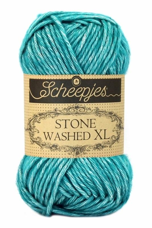 Scheepjeswol Stone Washed XL Green Agate 855