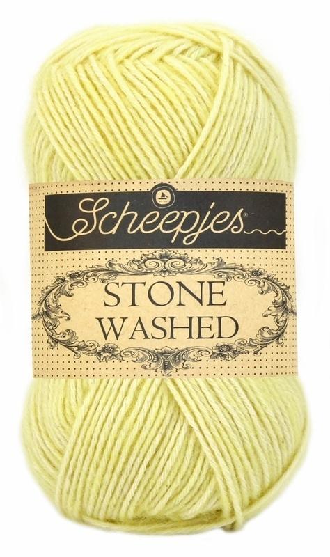 Scheepjeswol Stone Washed Citrine 817