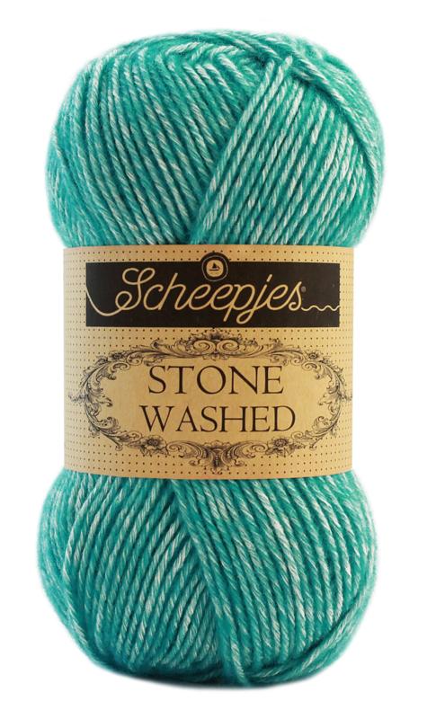 Scheepjeswol Stone Washed Turquoise 824
