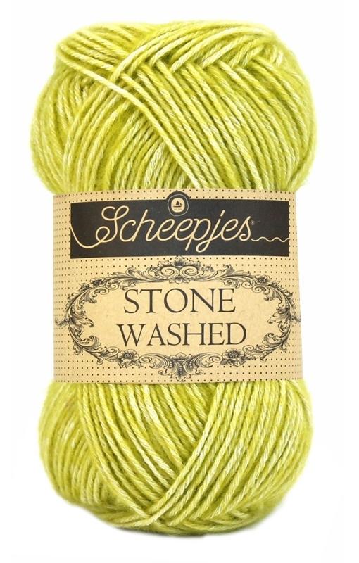 Scheepjeswol Stone Washed Lemon Quartz 812