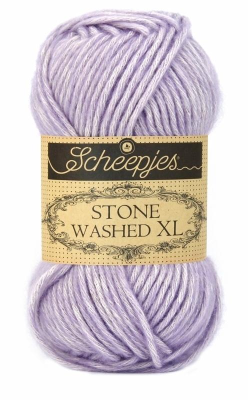 Scheepjeswol Stone Washed XL Lilac Quartz 858
