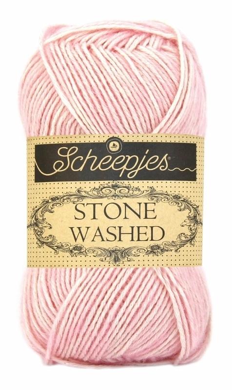 Scheepjeswol Stone Washed Rose Quartz 820
