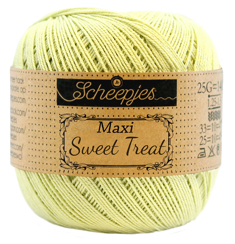 Scheepjes Maxi Sweet Treat 25 gram - Lime Juice 392