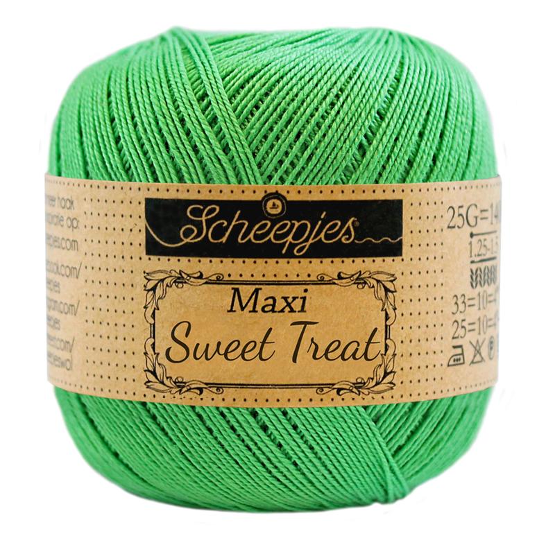 Scheepjes Maxi Sweet Treat  25 gram  - Apple Green 389
