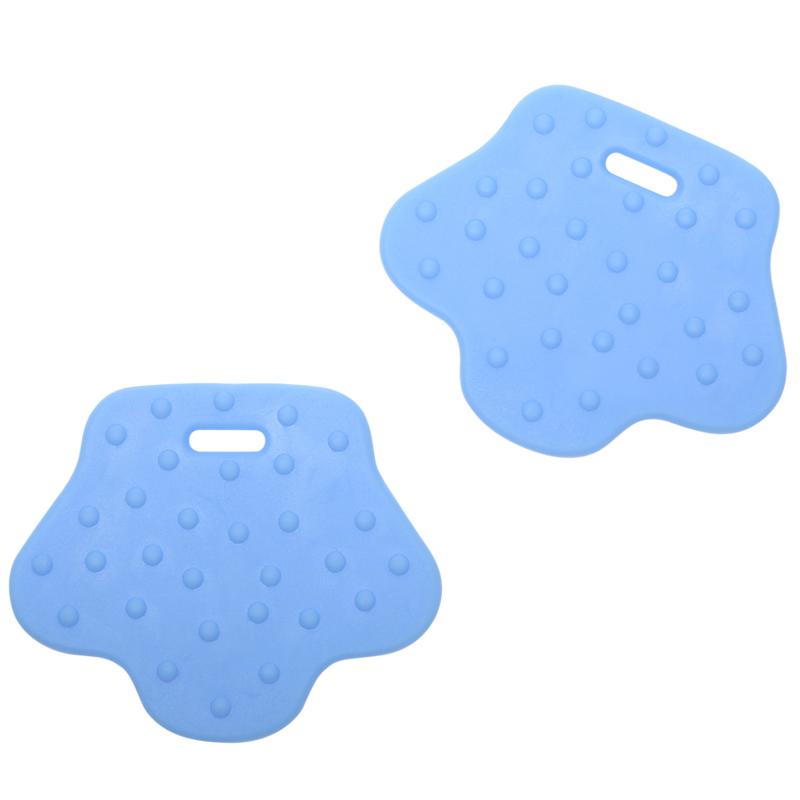 Dierenpoot siliconen bijtringen - Baby Blauw