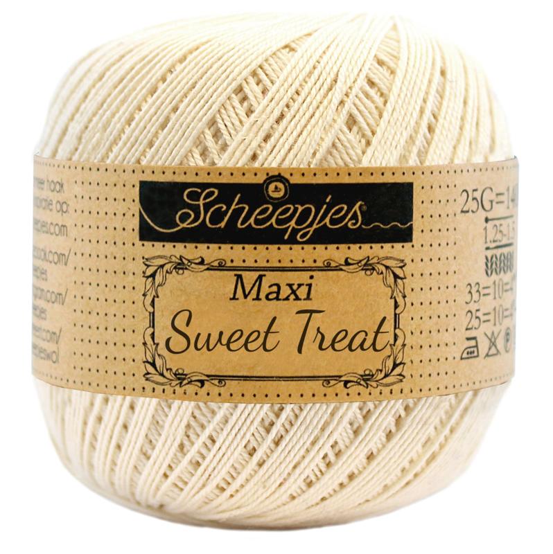 Scheepjes Maxi  Sweet Treat  25 gram -  Old Lace 130