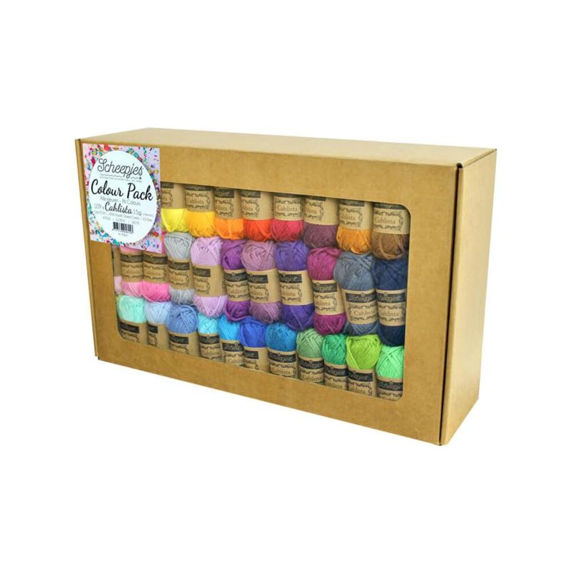 Scheepjes Cahlista Colour Pack 109 kleuren a 15 gram