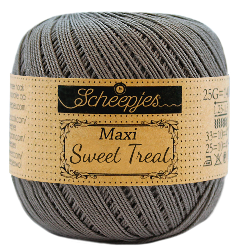 Scheepjes Maxi Sweet Treat 25 gram  - Metal Grey 242
