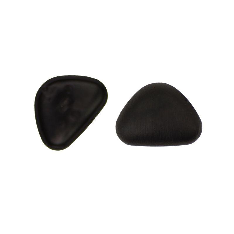 Veiligheidsneus zwart driehoek 18 mm SOFT