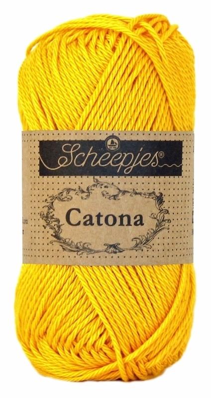 Scheepjes Catona 50 gram - Yellow Gold 208