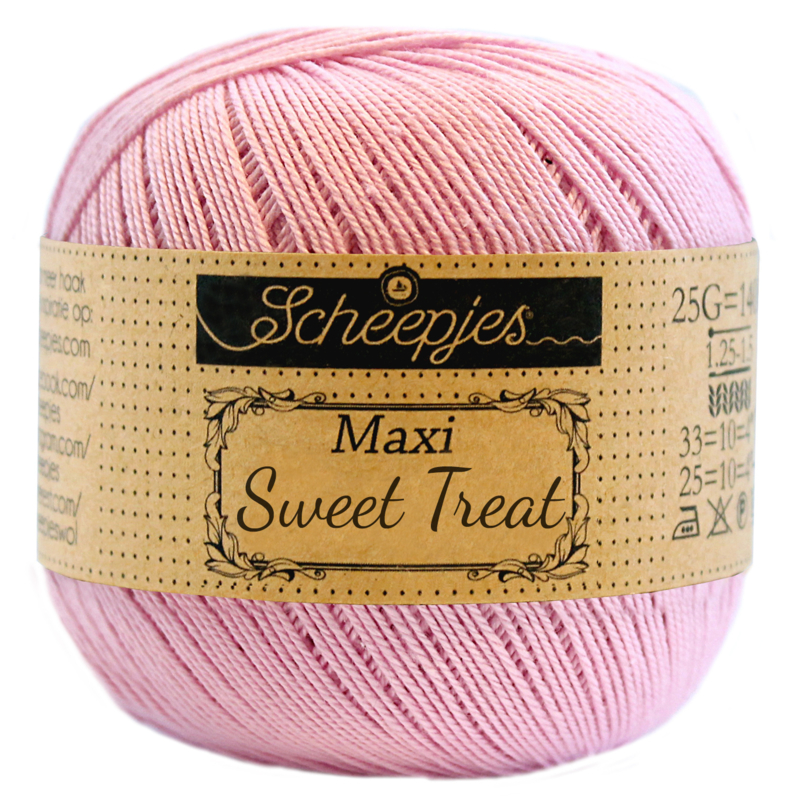 Scheepjes Maxi Sweet Treat 25 gram  - Icy Pink 246