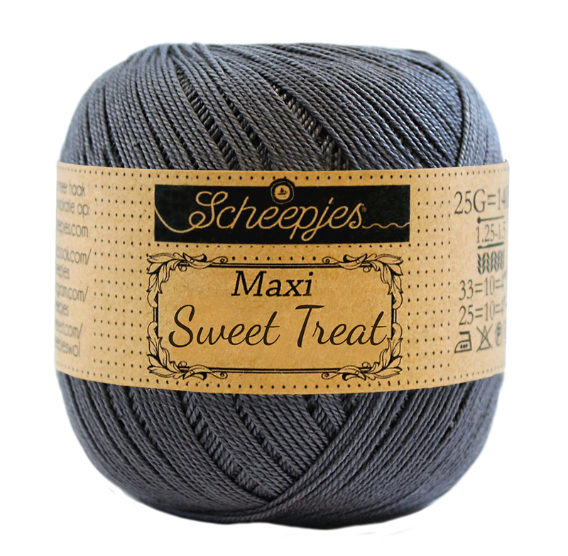 Scheepjes Maxi Sweet Treat  25 gram - Charcoal 393