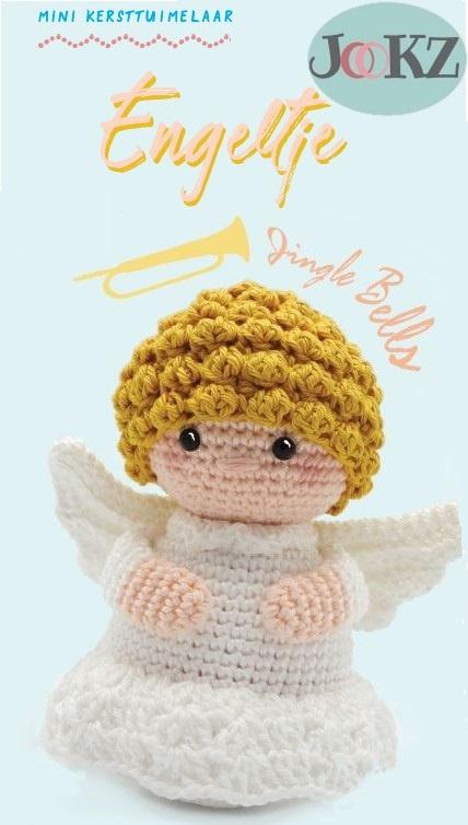 Garenpakket: Jookz Tuimelaar Engel mini