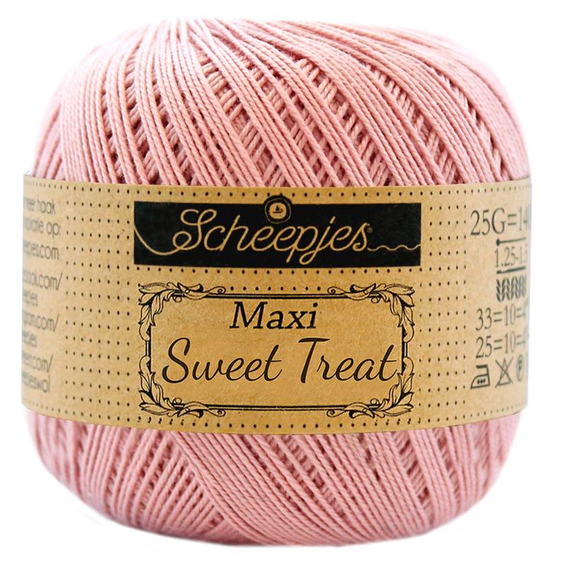 Scheepjes Maxi Sweet Treat  25 gram - Old Rose 408
