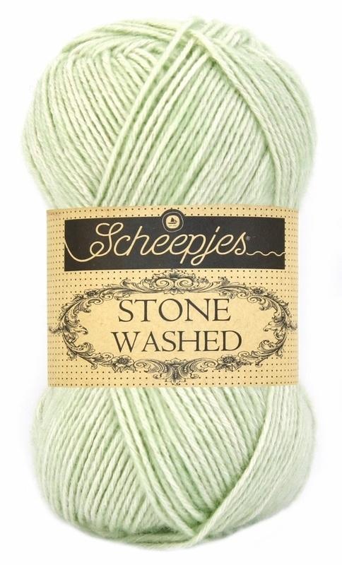 Scheepjeswol Stone Washed New Jade 819