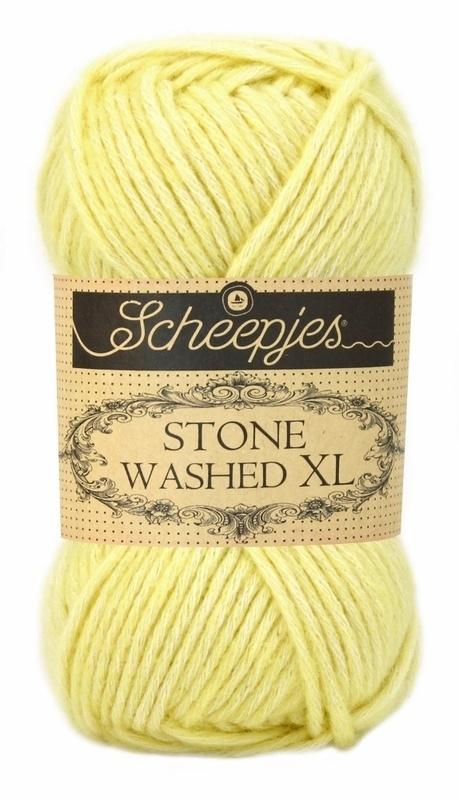 Scheepjeswol Stone Washed XL Citrine 857