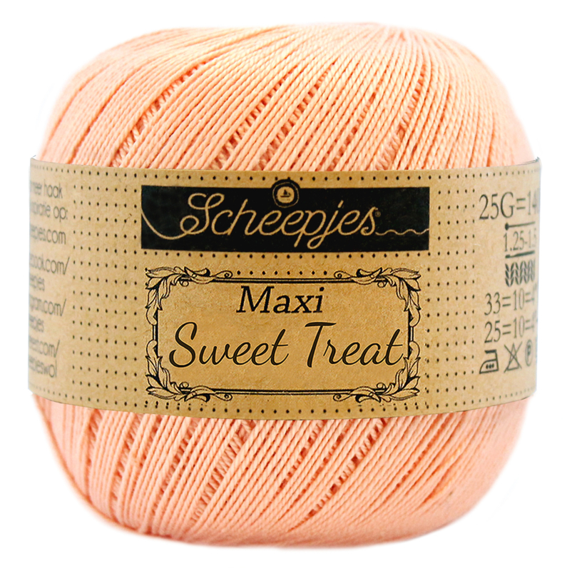 Scheepjes Maxi Sweet Treat  25 gram - Peach 523