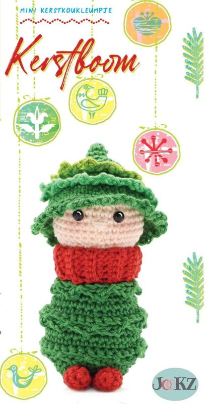 Garenpakket: Jookz Kerstkoukleumpje Kerstboom mini