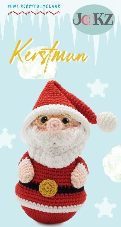 Garenpakket: Jookz Tuimelaar Kerstman mini