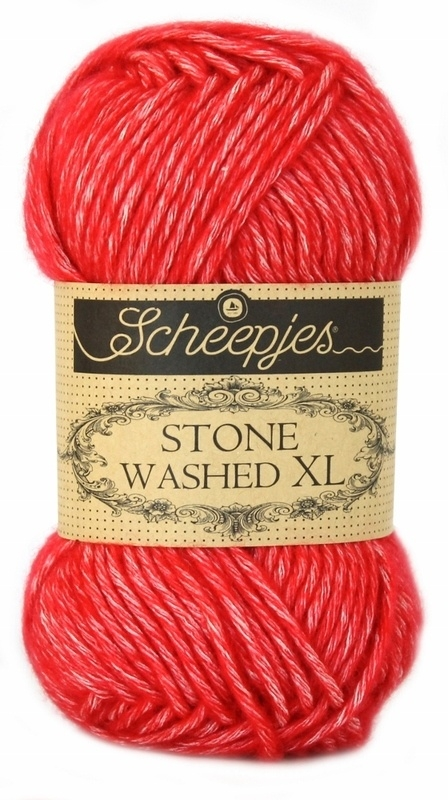 Scheepjeswol Stone Washed XL Carnelian 863