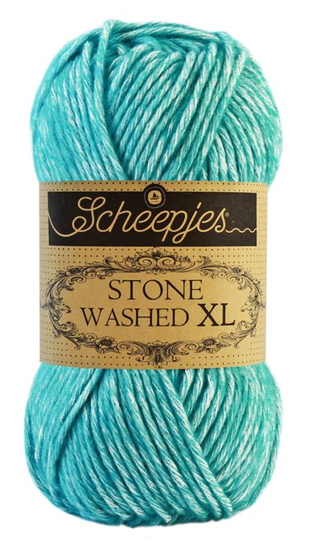 Scheepjeswol Stone Washed XL Turquoise 864