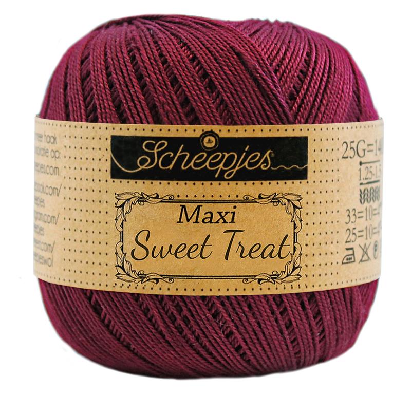 Scheepjes Maxi Sweet Treat 25 gram  - Bordeau  750