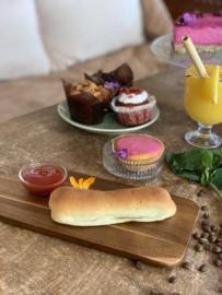 Vegan worstenbroodje (los item bij te bestellen bij alle pakketten)