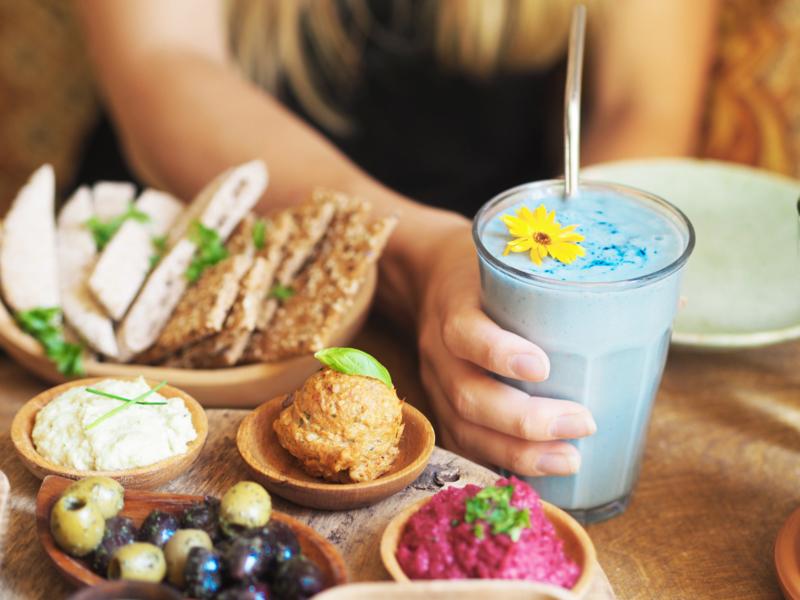 Blue lagoon smoothie