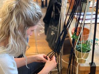 VRIJDAG 25 OKTOBER 2019 - WORKSHOP MACRAME PLANTENHANHGER