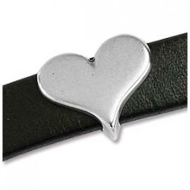 slider hart 16,5x14mm voor 10mm leer