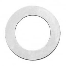 Washer aluminium 30mm