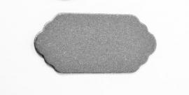 tag aluminium  50 x23 x 1mm