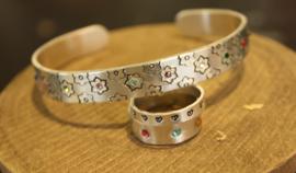 Set armband en ringen