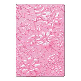 Embossing folder botanical