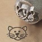 Cat face 6mm