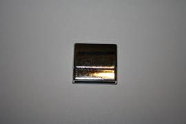 Basic magneetslot antiek zilver2x3.4mm