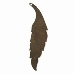 Vintaj Blank 60 X 15 Mm Slender Leaf
