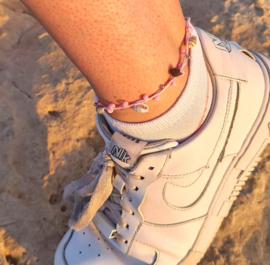 Enkelbandje Pink Beach