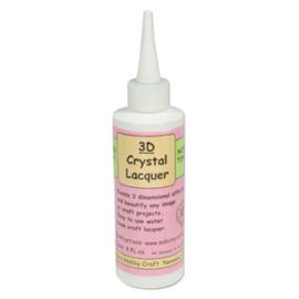 3D Crystal Lacquer Clear Glaze 120 Ml