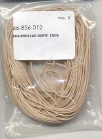 Kralendrag beige 1mmx20m